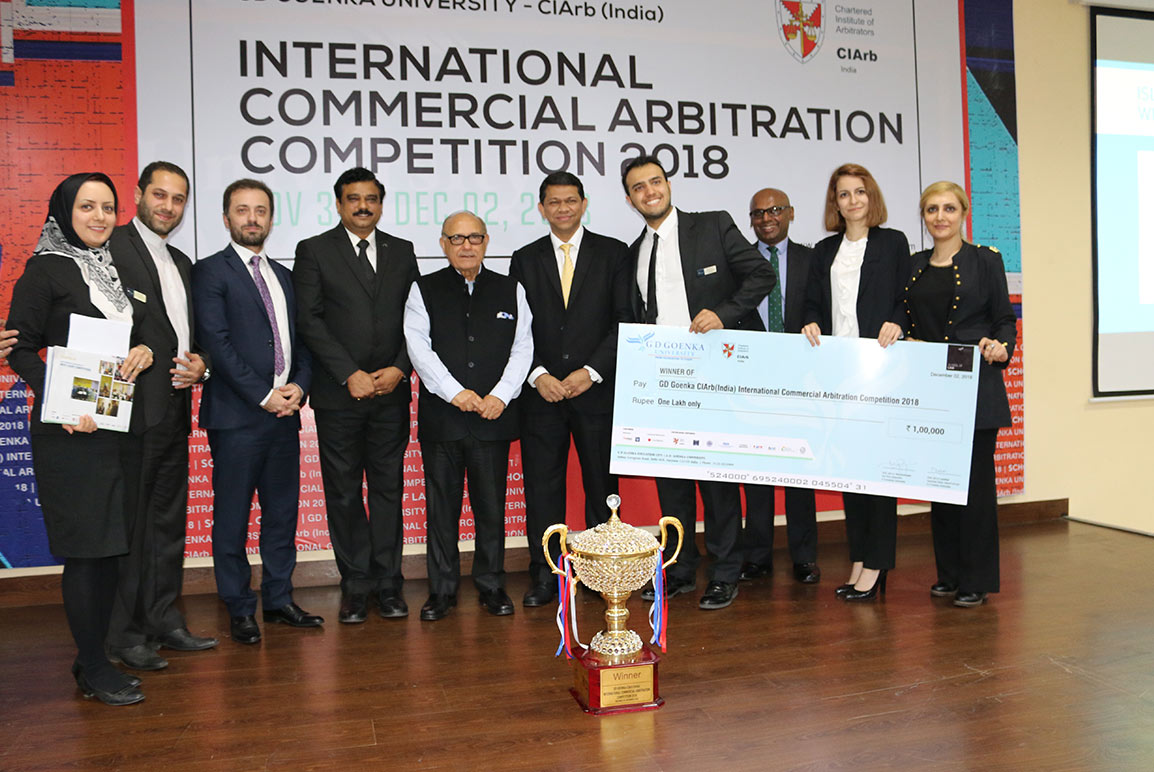 International Commercial Arbitration Competition 2018